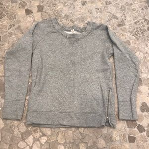 J Crew shimmer sweatershirt